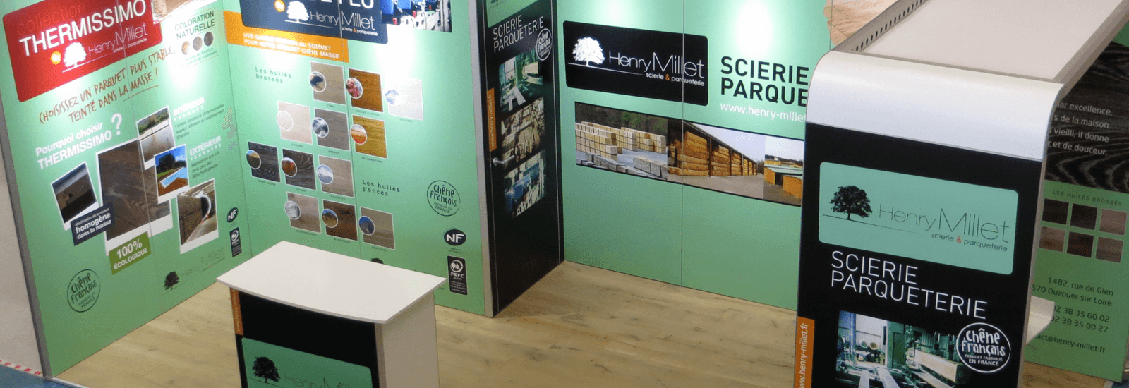 Stand modulaire 18m2