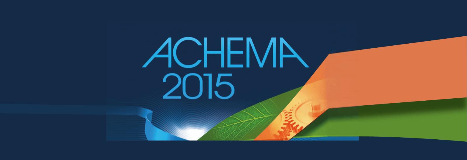Stand Servinox au salon Achema 2015 – Francfort