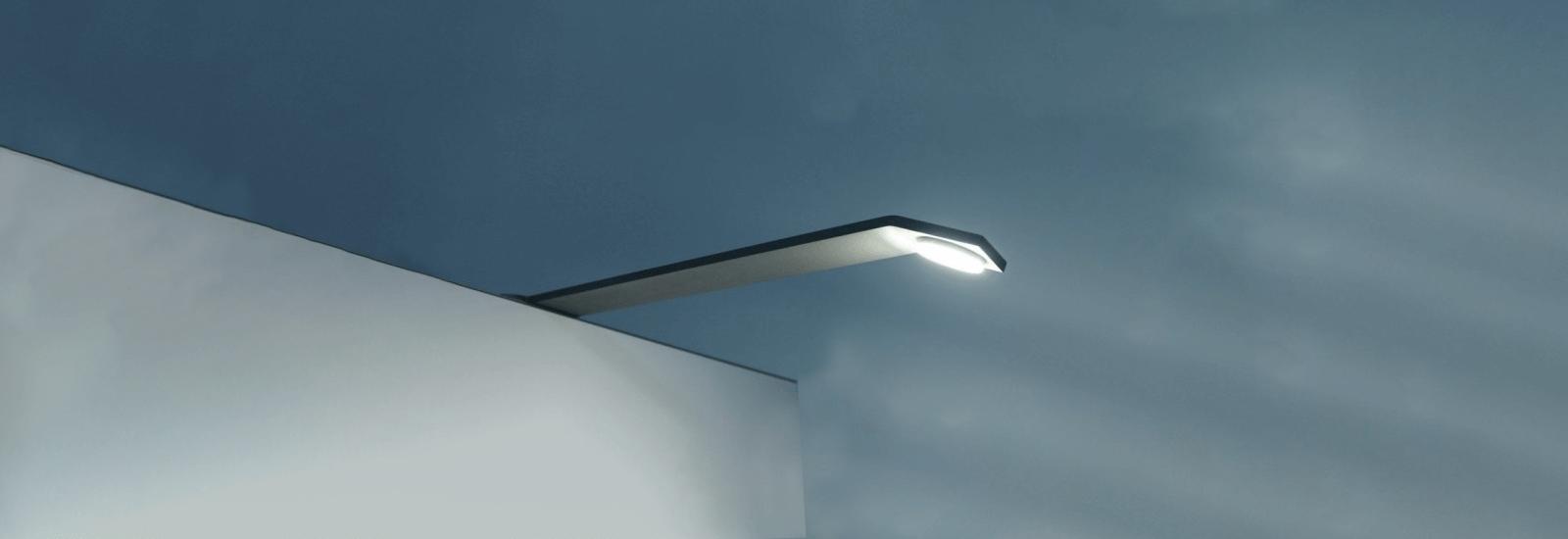 Stand en location avec éclairage LED