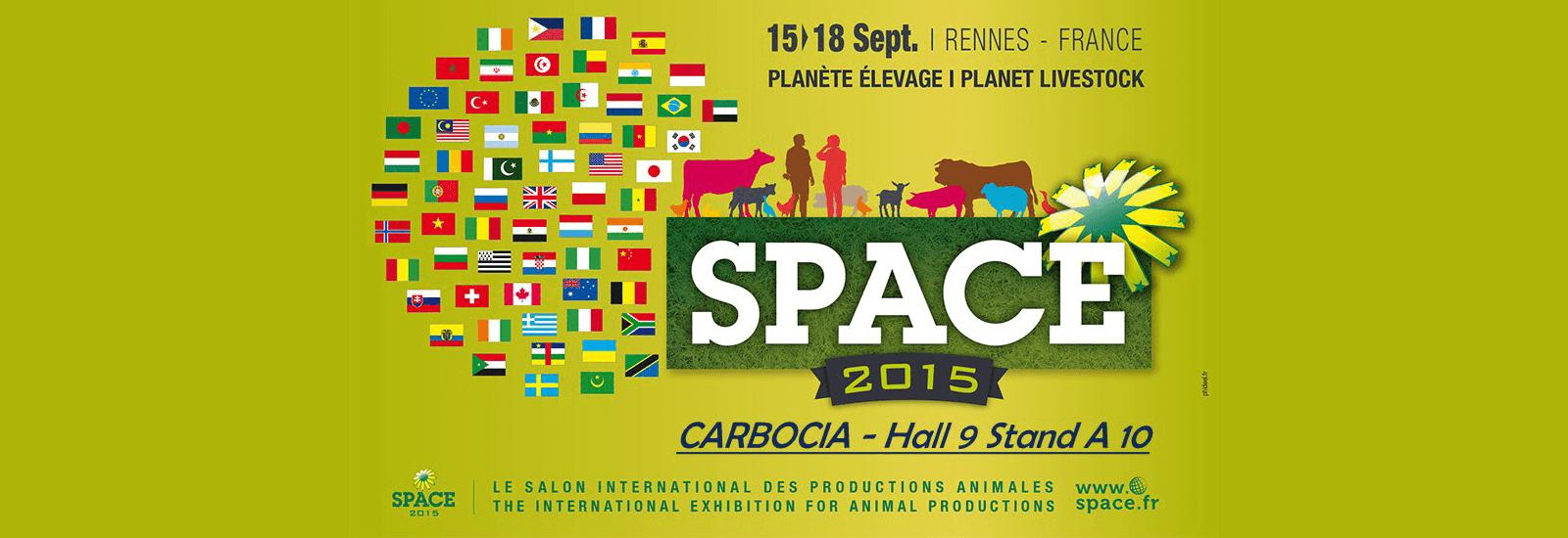 Stand au SPACE de Rennes