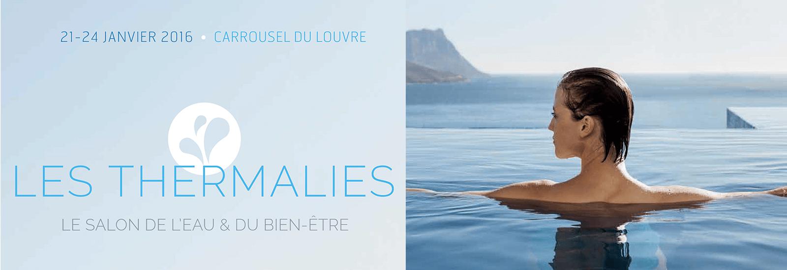 Salon Les Thermalies Paris 2016