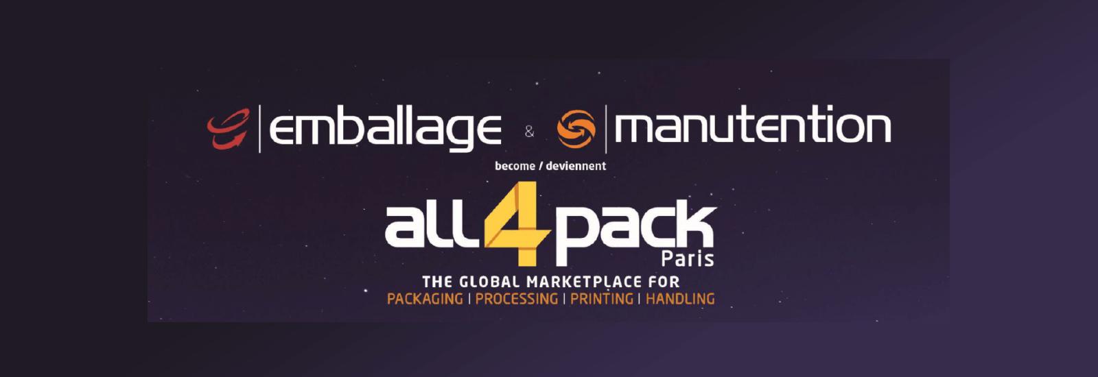 Design-R et SATO France emballent le salon All4Pack avec leur stand !