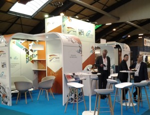 Stands d'exposition modulaire