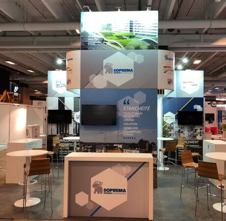 PAO pour stand modulaire