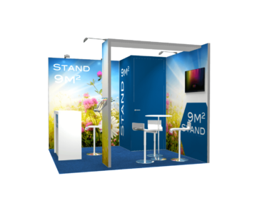 Location de stand Alumatrix 9m2