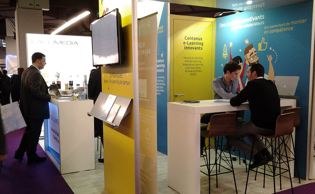 Stand modulaire Callimedia
