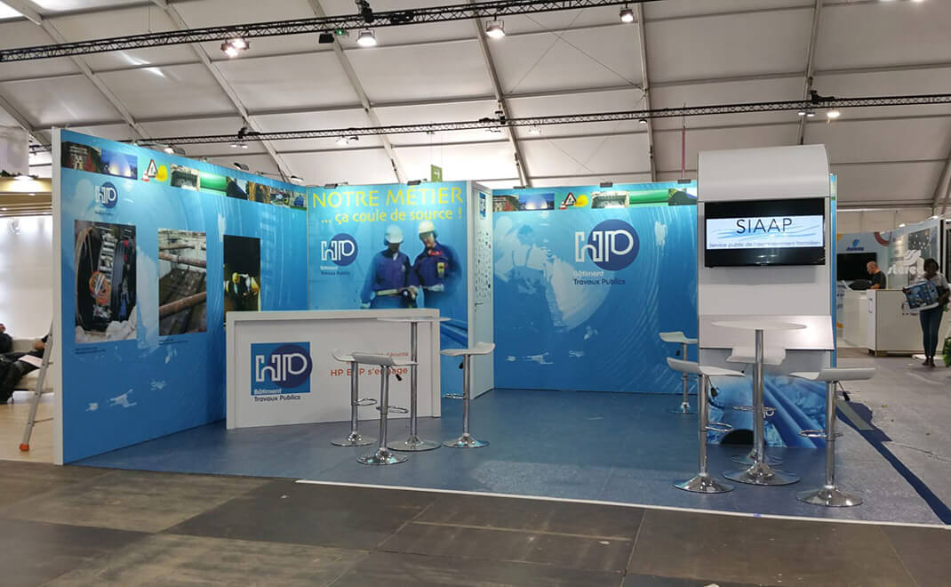 Stand modulaire HP